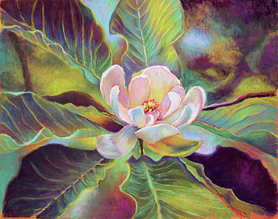 A Magnolia For Maggie Art Print by Susan Jenkins