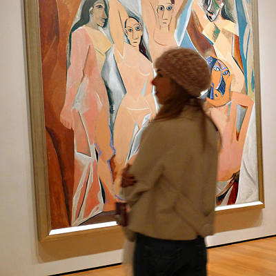 Photograph - A Maid And Les Demoiselles D'avignon by Frank Winters