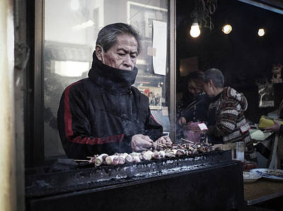 Photograph - A Man And His Grill by Paki O'Meara