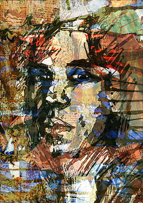 Digital Art - A Man Who Looks Like Someone by Haruo Obana