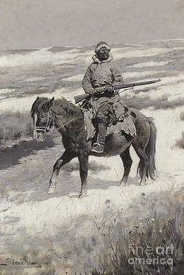 Lone Ranger Painting - A Manchurian Bandit by Frederic Remington