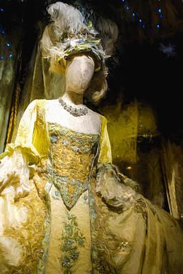 A Mannequin In A Grand Dress Art Print by Paul Bucknall