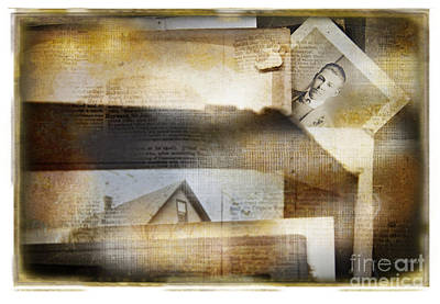 Art Print featuring the photograph A Man's Story by Craig J Satterlee