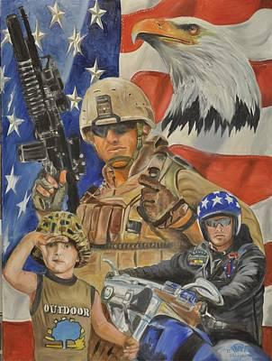 A Marine's Marine Art Print