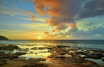 Photograph - A Marmalade Sky In Molokai by Tara Turner