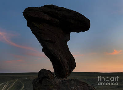 Desert Sunset Photograph - A Matter Of Balance by Mike Dawson