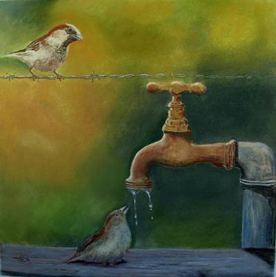 Painting - A Matter Of Watter by Ceci Watson