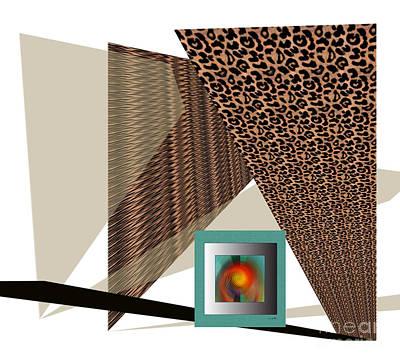 Digital Art - A Maze Ment by Iris Gelbart