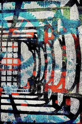 Painting - A Maze by Tommy McDonell