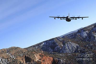 Modern Feathers Art - A Mc-130j Combat Shadow Ii Aircraft by Stocktrek Images