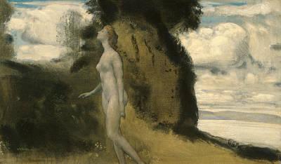 Arthur Bowen Davies Painting - A Measure Of Dreams by Arthur Bowen Davies
