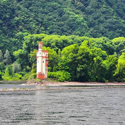 Photograph - A Medieval Castle On The Rhine by Kirsten Giving