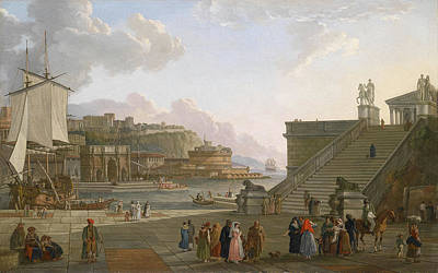 A Mediterranean Port Print by Celestial Images