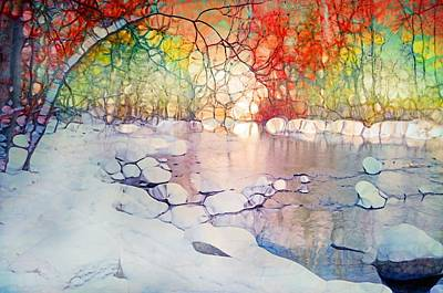 Digital Art - A Meeting Of Seasons by Tara Turner