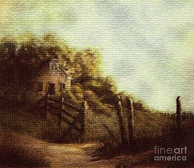 Painting - A Melancholy Morning by Hazel Holland