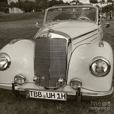 Photograph - A Mercedes Memory by Barbie Corbett-Newmin