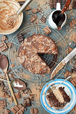 Home-sweet-home Photograph - A Mess Of Chocolate by Tim Gainey