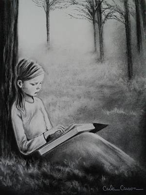Drawing - A Mid Summers Tale by Carla Carson