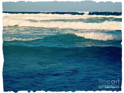 Photograph - A Mighty Ocean 1 by Leanne Seymour