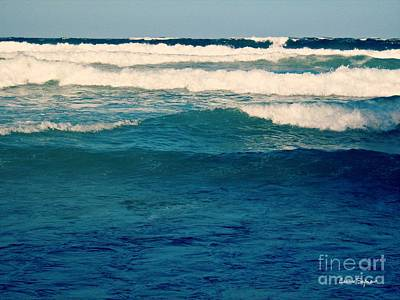 Photograph - A Mighty Ocean by Leanne Seymour
