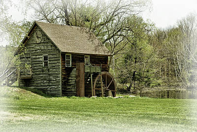 Photograph - A Mill In A Meadow by Mike Martin