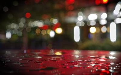 Photograph - A Million Light Reflections Pass Over Me by Peter Thoeny