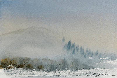 Painting - A Misty Morning by Dorothy Darden