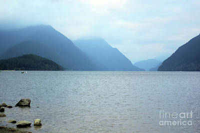 Photograph - A Misty Spring Day by Victor K