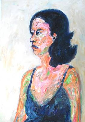 Painting - A Modern Madame Bovary by Esther Newman-Cohen