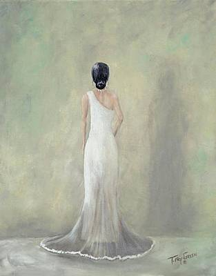 Painting - A Moment Alone by T Fry-Green