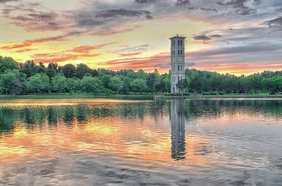 Furman Photograph - A Moment At The Furman Bell Tower by Blaine Owens Photography