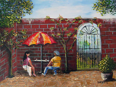 Painting - A Moment In Time by Gloria E Barreto-Rodriguez