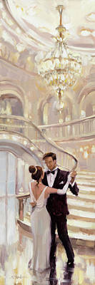 Movies Star Paintings - A Moment in Time by Steve Henderson