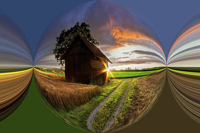 Photograph - A Moment Like This Circles by Debra and Dave Vanderlaan