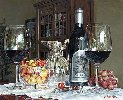 Silver Oak Painting - A Moment Of Reflection by Eric Christensen