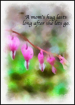 Photograph - A Mom's Hug .... by Kerri Farley