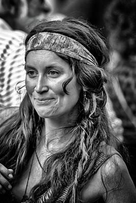 Photograph - A Mona Lisa Smile by John Haldane