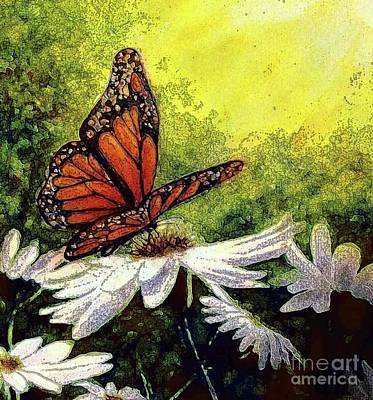 Painting - A Monarch's Beauty by Hazel Holland