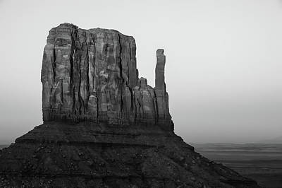 Travel Pics Royalty-Free and Rights-Managed Images - A Monument of Stone Black and White by Gregory Ballos