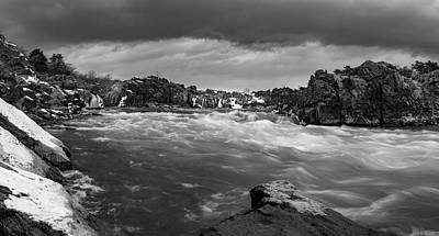 Photograph - A Moody Day On The Potomac by Michael Balen