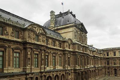 Photograph - A Morning At The Louvre by Hany J