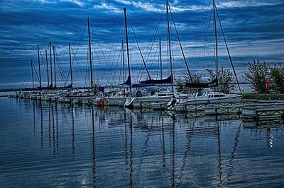 Photograph - A Morning In Blue by Diana Mary Sharpton