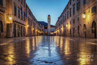 Photograph - A Morning On Stradun by JR Photography