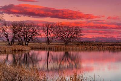 Photograph - A Morning Sunrise by John De Bord