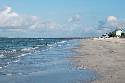 Photograph - A Morning Walk On Fort Myers Beach Fort Myers Florida by Toby McGuire