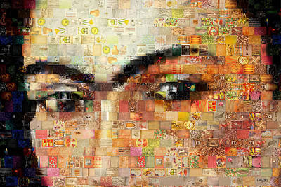 Photograph - A Mosaic Of Life Thru Her Eyes by Paula Ayers