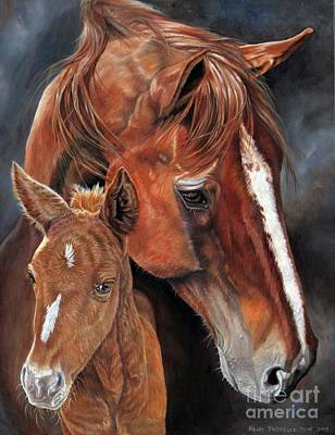Painting - A Mothers Love by Heidi Parmelee-Pratt