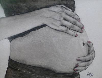Painting - A Mothers Love Inside And Out by Kelly Mills