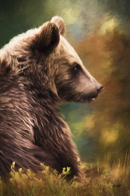 Painting - A Mother's Love - Wildlife Art by Jordan Blackstone