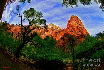 Photograph - A Mount Zion National Park Wonders by Blake Richards